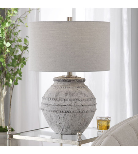 Uttermost 28212-1 Montsant 26 inch 150 watt Table Lamp Portable Light 28212-1_Beauty.jpg