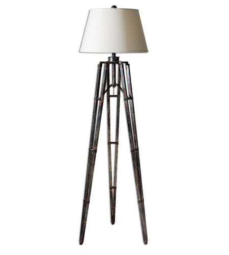 Uttermost Tustin Table Lamp in The Tripod Base Has An Oxidized Bronze 28460 photo