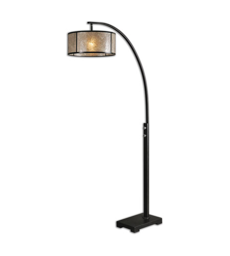 Uttermost 28597 1 Cairano 80 Inch 150 Watt Oil Rubbed Bronze Floor Lamp Portable Light