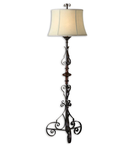Uttermost Celino Table Lamp in Dark Mahogany 28631 photo