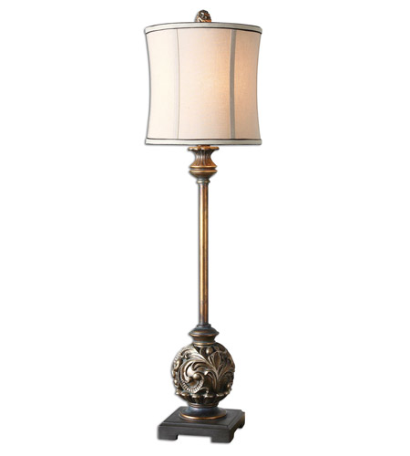 Uttermost Shahla Bronze Table Lamp in Aged Golden Bronze 29291-1 photo