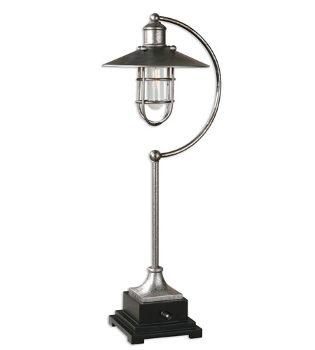 Uttermost Poly and Metal Table Lamps