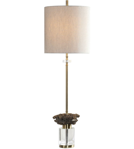 Uttermost Gold Crystal Table Lamps