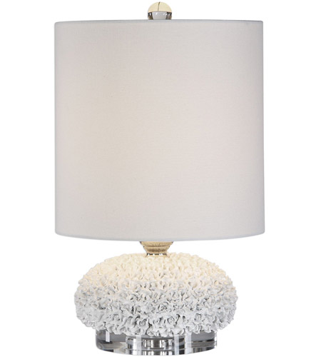 Uttermost Nickel Crystal Table Lamps
