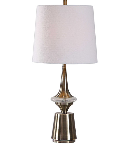 Uttermost Glass+Metal Table Lamps