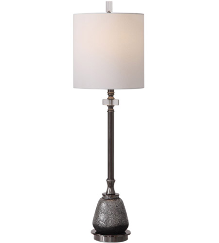 Uttermost Silver Steel Table Lamps