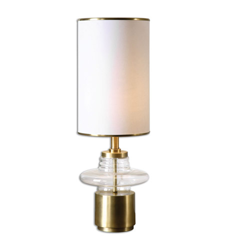 Uttermost Palmyra 1 Light Buffet Lamp in Plated Brushed Brass 29770-1 photo