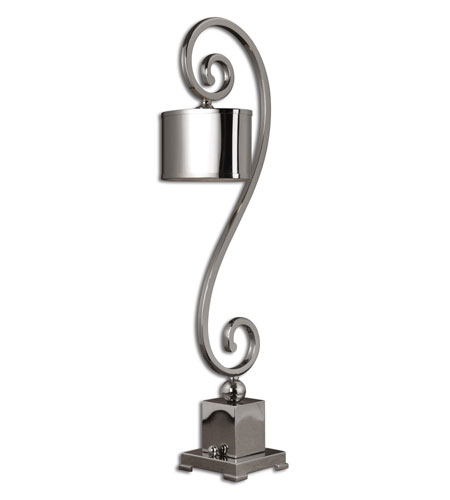 Uttermost Susalina Buffet Table Lamp in Polished Nickel 29870-1
