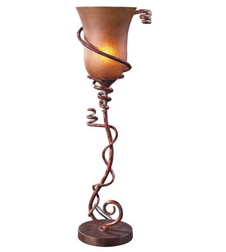 Uttermost Climbing Vine Lamp Table Lamp in Burnished Bronze 29916-1 photo