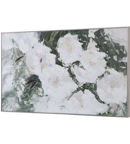 Uttermost 31419 Sweetbay Magnolias 57 X 33 inch Hand Painted Art 31419_A1_ANGLE.jpg