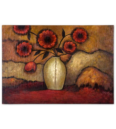 Uttermost 32076 Red Poppies n/a Wall Art