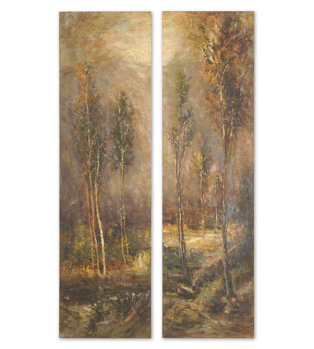 Uttermost Woodland Panels Set of 2 Art 32177 photo