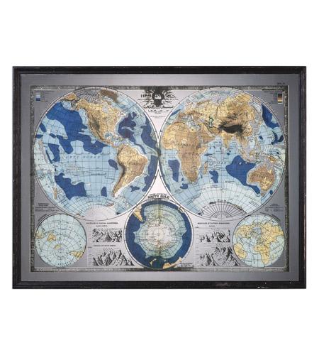 Uttermost 32538 mirrored world map black wall art uttermost 32538 mirrored world map black wall art photo gumiabroncs Gallery