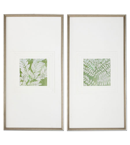 Uttermost Meadow Leaves Wall Art (Set of 2) 33606 photo