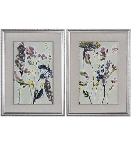 Uttermost 33670 Parchment 39 X 29 inch Print, Set of 2, Flower Field