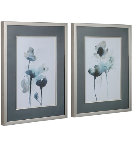 Uttermost 33688 Midnight Blossoms 35 X 27 inch Framed Prints, Set of 2 33688_A.jpg