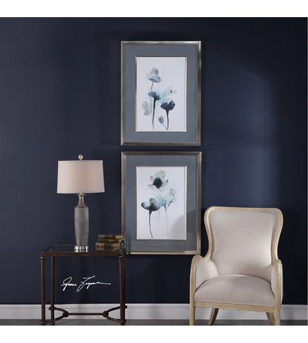 Uttermost 33688 Midnight Blossoms 35 X 27 inch Framed Prints, Set of 2 33688_Lifestyle.jpg