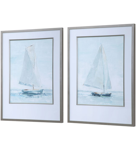Uttermost 33708 Seafaring 34 X 25 inch Framed Prints, Set of 2 33708_A1_ANGLE.jpg