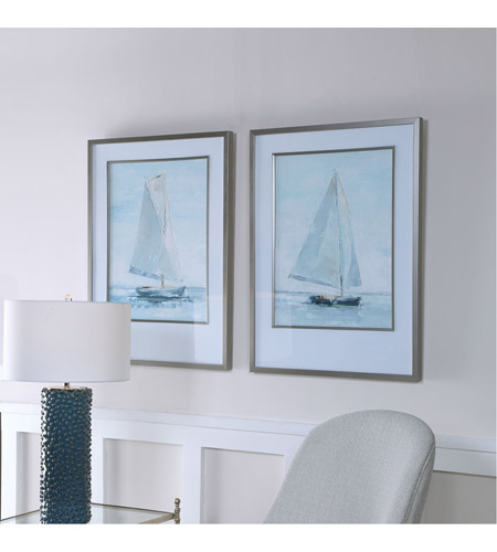 Uttermost 33708 Seafaring 34 X 25 inch Framed Prints, Set of 2 33708_beauty.jpg