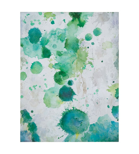 Uttermost 34278 Spots Of Emerald Modern Wall Art