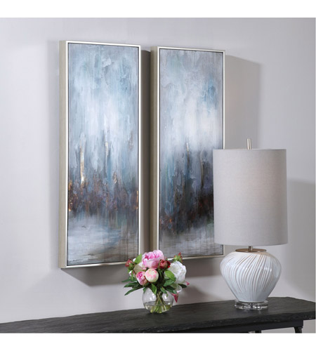Uttermost 34376 Rainy Days 33 X 13 inch Abstract Art, Set of 2 34376_A.jpg