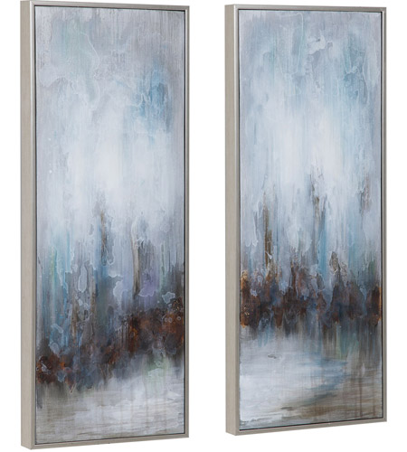 Uttermost 34376 Rainy Days 33 X 13 inch Abstract Art, Set of 2 34376_A1_ANGLE.jpg