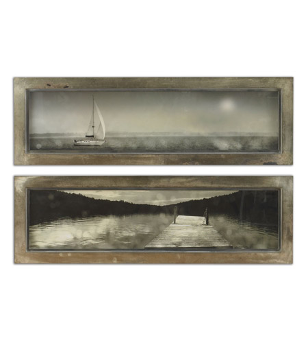 Uttermost 35232 Twilight Sail Framed Wall Art