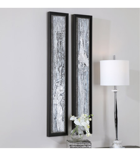 Uttermost 35370 Silver Lining 46 X 8 inch Abstract Art, Set of 2 35370_A.jpg