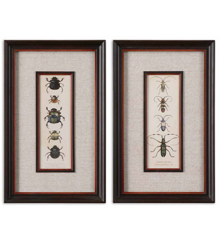 Uttermost Bug Collection I II Set of 2 Art 41266 photo