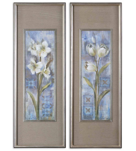 Uttermost Early Spring II III Set of 2 Art 41273 photo