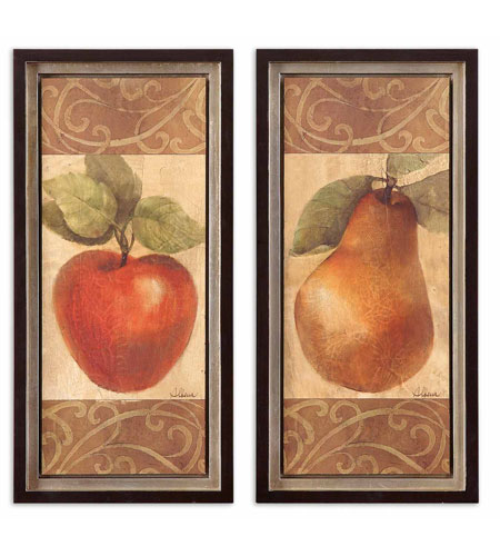 Uttermost 41279 Patterned Apple & Pear n/a Wall Art