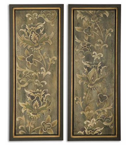 Uttermost Vertical Climb Set of 2 Art 41289 photo
