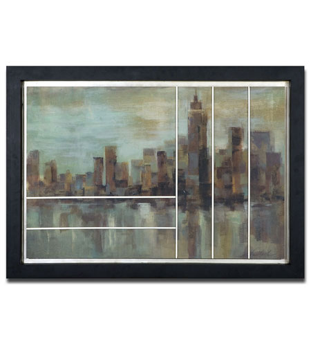 Uttermost 41352 Misty Day In Manhattan Wall Art