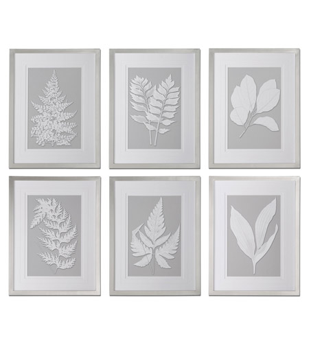Uttermost 41394 Moonlight Ferns 26 X 20 inch Art Prints