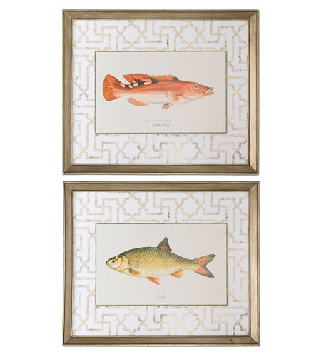 Uttermost 41413 Wrass and Rudd Fish 24 X 20 inch Art Prints photo