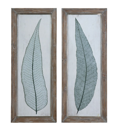 Uttermost 41514 Tall Leaves Framed Wall Art photo