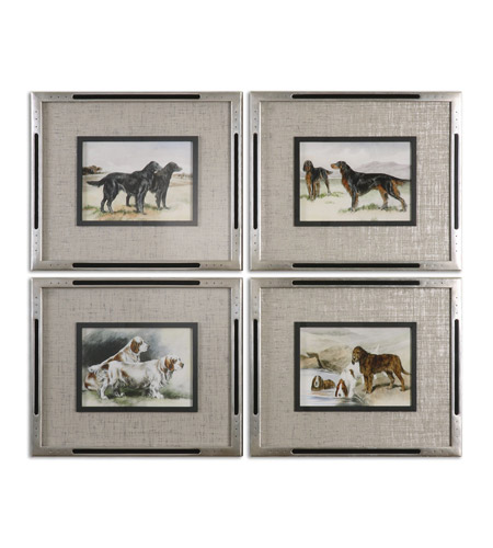 Uttermost 41541 Working Dogs 20 X 17 inch Dog Art Prints photo