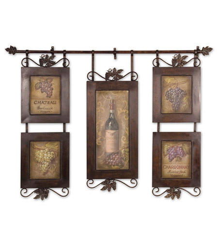 Uttermost 50791 Hanging Wine n/a Wall Art photo