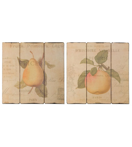 Uttermost French Fruit Wall Art (Set of 2) 51080 photo