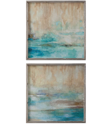 Uttermost 51103 Through The Mist Abstract Wall Art