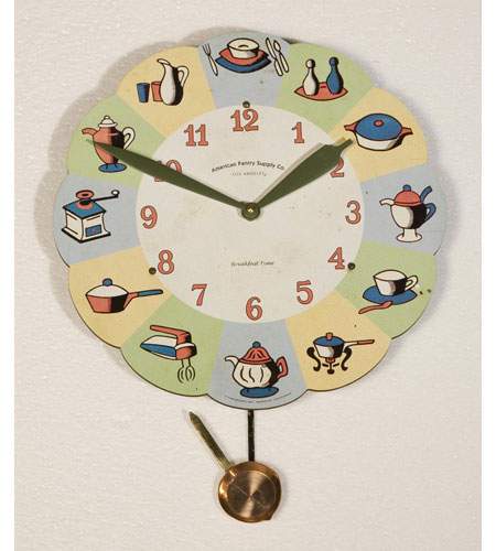 Uttermost American Pantry Breakfast Clock APB13P photo