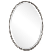 Uttermost 01102-B Sherise 32 X 22 inch Brushed Nickel Wall Mirror