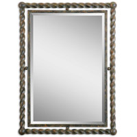 Uttermost Garrick Mirrors in Heavy Rust Wash 01106