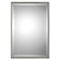 Uttermost Sherise Rectangle Mirror in Brushed Nickel 01113