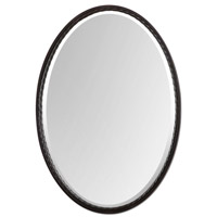Uttermost Casalina Oil Rubbed Bronze Oval Mirror in Oil Rubbed Bronze 01116