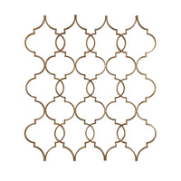 Uttermost Zakaria Wall Art in Gold Leaf 04029