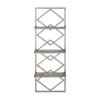 Uttermost Silvia Wall Shelf in Antiqued Silver 04033