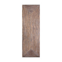 Uttermost Lokono Panel Wall Panel in Oxidized Gold 04060