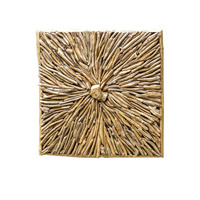 Uttermost Jumano Wall Panel in Teak Root 04067