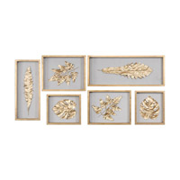 Golden Leaves Gold Leaf Shadow Box